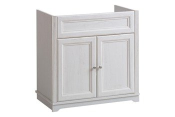 Biała szafka pod umywalkę 80 cm Palace Andersen