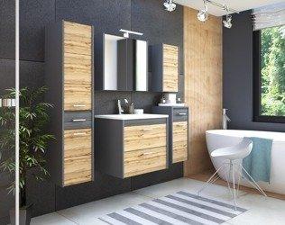 Komplet mebli łazienkowych Ibiza Antracyt 60 cm
