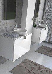 Oristo Zestaw mebli łazienkowych 80 cm BOLD biały połysk