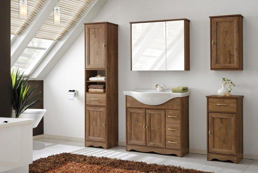 Klasyczne meble łazienkowe Deco 85cm
