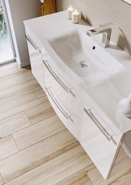 Oristo Szafka pod umywalkę 60 cm WAVE biała