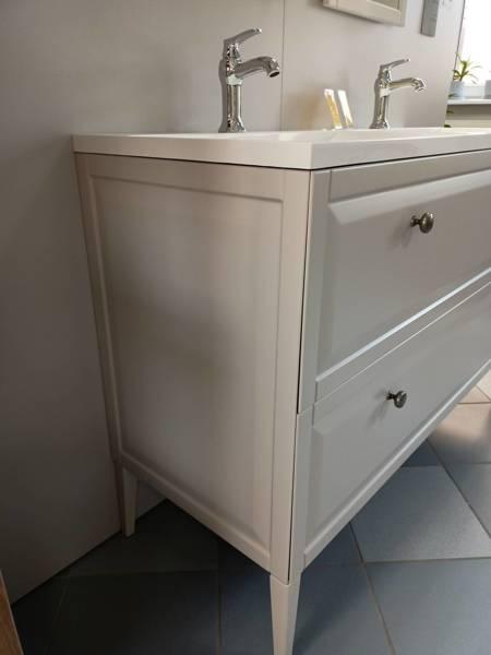 Oristo Szafka pod umywalkę MONTEBIANCO 80 cm piaskowa