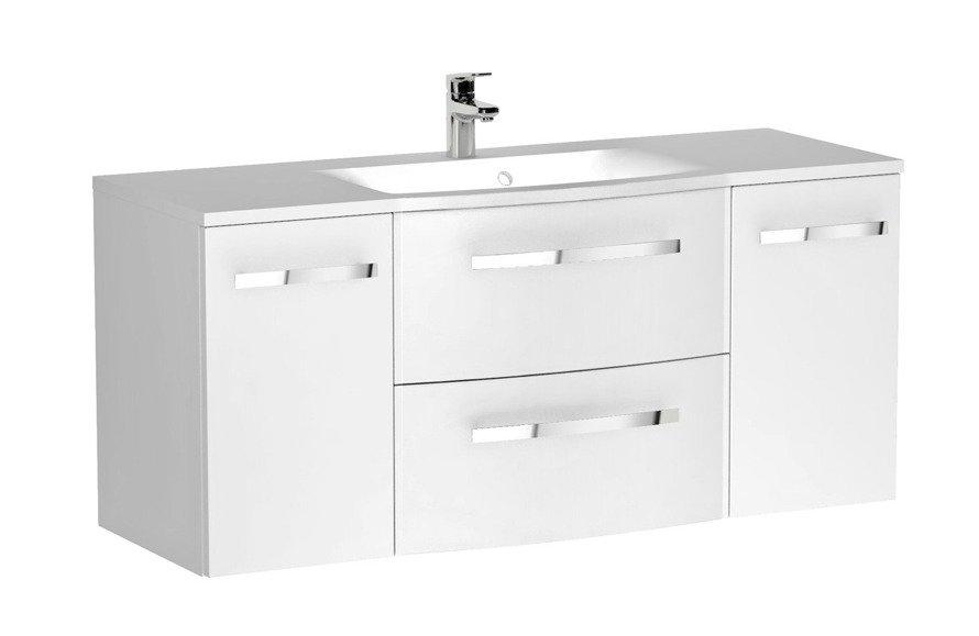 Oristo Zestaw mebli łazienkowych 120 cm WAVE biały