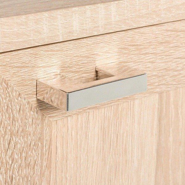 Półsłupek łazienkowy Piano dąb sonoma