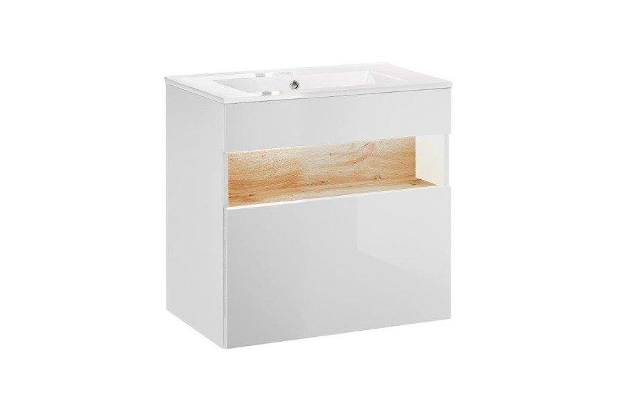 Szafka pod umywalkę 60 cm Bahama White