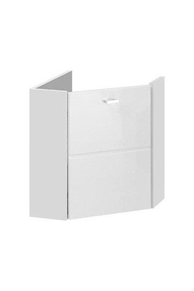 Szafka pod umywalkę narożna 40 cm Finka White