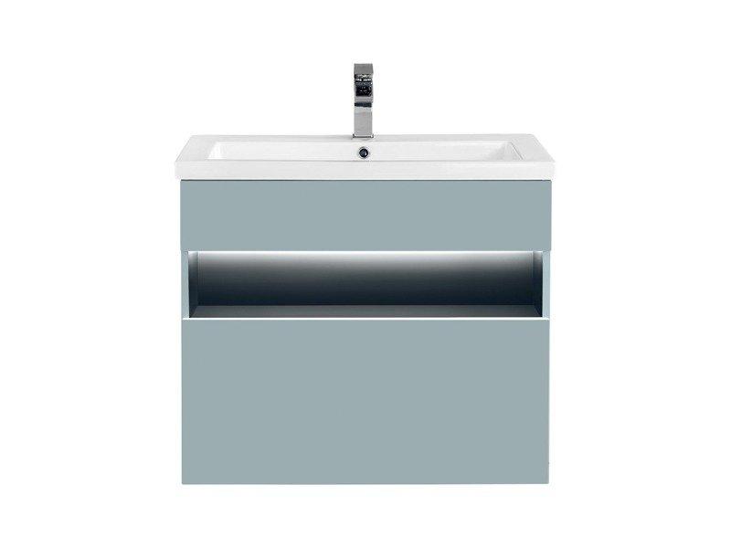 Szafka z umywalką 60 cm Bahama Mint 820 + Spirit2 60