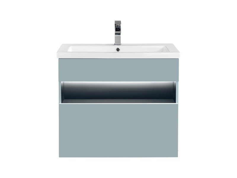 Szafka z umywalką 80 cm Bahama Mint + umywalka Spirit2 80