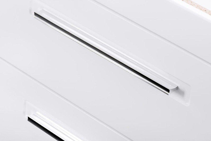 Szafka z umywalką Active 60 cm biały połysk