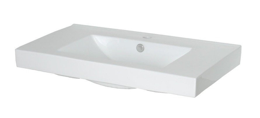 Umywalka ceramiczna 80 cm