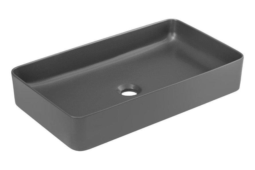 Zestaw mebli łazienkowych 100 cm Manhattan z szarą umywalką nastawną