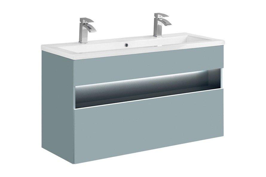 Zestaw mebli łazienkowych Bahama Mint 120D cm
