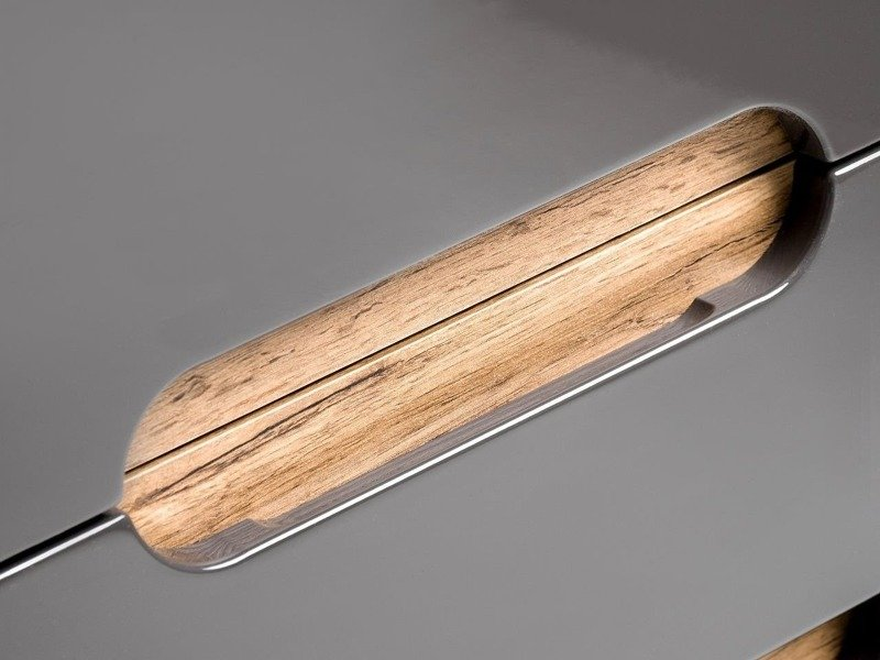 Zestaw mebli łazienkowych Bali szary 80 cm